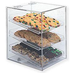 Goldleaf Plastics BDT3LB Bakery Display Cases - Acrylic