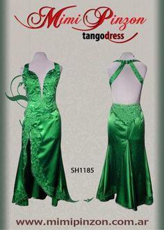 Vestido Tango Escenario SH1185