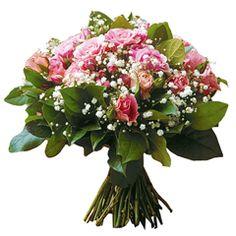 Livraison de fleurs par des artisans fleuristes.