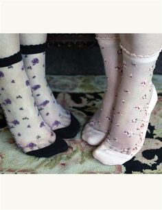 Victorian Trading Co. - Rosy Posy Socks #2528475  From $12.95