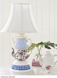 Diy Teapot Lamp