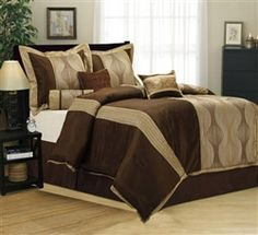 Nanshing Kath Queen 7 Piece Comforter Set #hiddentreasuresdecorandmore