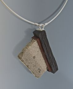 Reconstruction Pendant II by tommccarthyjewelry, via Flickr
