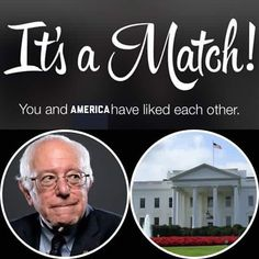 I'm assuming this is tinder?  Never used it myself I much prefer waiting until I'm really sweaty at the gym and hitting on women far out of my league.  Works 20% of the time every time.  Anyway vote Bernie    Turn On Post Notifications!  Register To Vote  Raise Awareness For Our Revolution  Donate to Bernie  #FeelTheBern #BernieSanders #Bernie2016 #Hillary2016 #Obama #HillaryClinton #President #BernieSanders2016 #election2016 #trump2016 #Vegan #GoVegan #BlackLivesMatter #SanDiego #Vote…