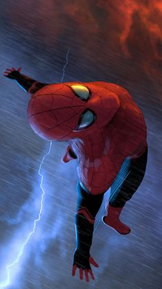 Flying Spiderman IPhone Wallpaper - Best of Wallpapers for Andriod and ios Marvel Dc Comics, Bd Comics, Marvel Art, Marvel Heroes, Marvel Avengers, Spiderman Marvel, Spiderman Kunst, Spiderman Spider, Amazing Spiderman