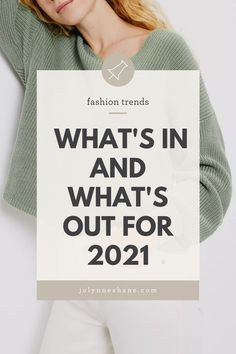 It's the much-anticipated spring 2021 fashion trends post! Let's talk about what styles will be trending this season and which ones are on their way out. Spring Fashion Trends, My Style