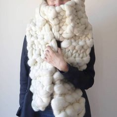 Merino Chunky Knit Scarf, January Round up - Small Business Love