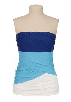 Colorblock Tube Top available at #Maurices