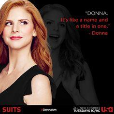 Donna. She's pretty much perfect.