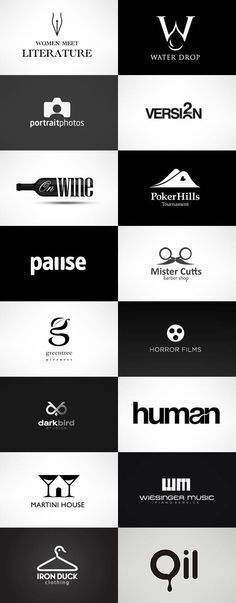 black and white logo design inspiration - Google Search