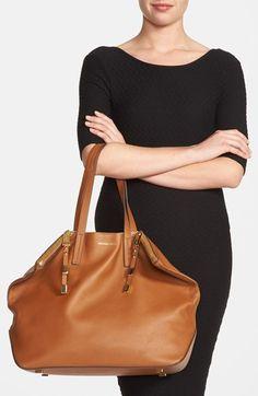 Michael Kors 'Large Miranda' Leather Shopper | Nordstrom