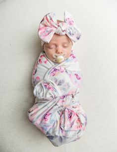 Buy Now Baby Swaddle blanket stretchy knit blanket swaddle and. Newborn Hospital Outfits, Baby Swaddle Blankets, Baby Girl Blankets, Winter Rose, Girls Coming Home Outfit, Newborn Essentials, Toddler Blanket, Baby Girl Newborn, Baby Girls