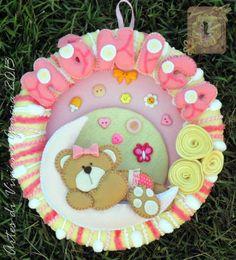 Porta Maternidade Personalizado com o nome do seu bebê *u* R$ 58,00