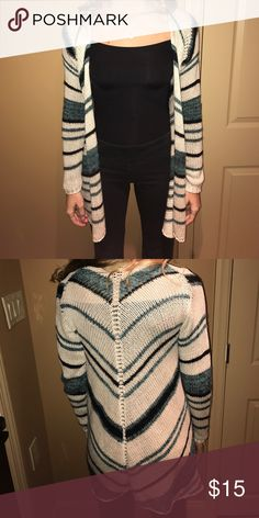 Love Stitch Sweater Striped Love Stitch Sweaters Cardigans