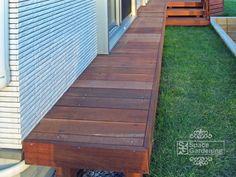 濡れ縁 木製 アイアンウッド材