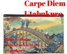 CARPE DIEM HAIKU KAI: Carpe Diem Utabukuro #5 Origami frog
