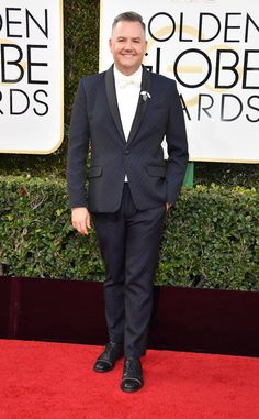 Ross Mathews from 2017 Golden Globes Red Carpet  In Mr. Turk