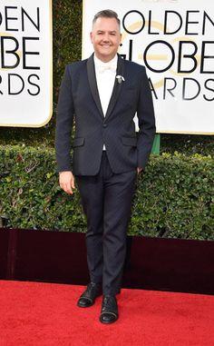 Ross Mathews from 2017 Golden Globes Red Carpet  In Mr. Turk