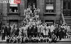 These 57 jazz legends met photographer Art Kane in front of a Harlem brownstone on Aug. 12, 1958. Here is the unforgettable result.