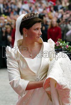 The bride; wedding of Princess Märtha Louise of Norway and mr. Ari Behn on May 24, 2002