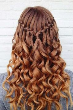 This is one of the cutest half up half down hairstyles for long hair! Grad Hairstyles, Down Hairstyles For Long Hair, French Braid Hairstyles, Braided Hairstyles, Cool Hairstyles, Wedding Hairstyles, Long Hairstyle, Hairstyle Ideas, Hair Ideas