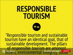 Infographic: Responsible Tourism -
