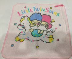 Vintage Sanrio Little Twin Stars towel made in Japan 1988 by TownOfMemories on Etsy