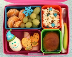Laptop Lunches: Winter Wonderland by anotherlunch.com, via Flickr