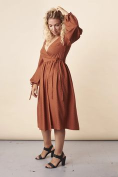 Hannah Dress Sewing Pattern – By Hand London