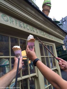 Florean Fortescue's Ice Cream Parlour  What to Eat at Universal Orlando and The Wizarding World of Harry Potter