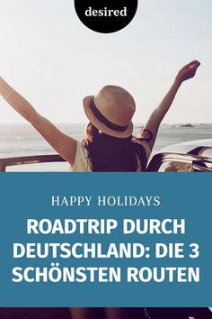 Verbindest du mit Urlaub auch automatisch ferne Länder und fremde Kulturen? Das geht vielen so – aber warum eigentlich?! Schließlich ist auch die Landschaft in Deutschland ziemlich vielfältig und schön. Am meisten siehst du davon, wenn du deine sieben Sachen packst und einen Roadtrip durch Deutschland startest. Die perfekten Routen haben wir hier für dich rausgesucht!  #roadtrip #deutschland #reisen #corona Life Hacks, Road Trip, Wanderlust, Corona, Explore, Road Trips, Useful Life Hacks