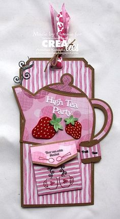 Penny Black, Diy And Crafts, Paper Crafts, Arts And Crafts, Tea Tag, Marianne Design Cards, Paper Purse, Coffee Cards, Handmade Tags