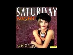"Whigfield ""Saturday night"" 1995 Saturday Night, English, Songs, Music, Youtube, Movies, Movie Posters, English English, Films"