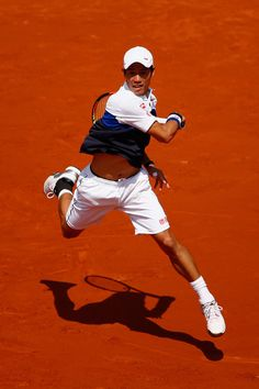 Kei Nishikori Photos - 2015 French Open - Day Four - Zimbio