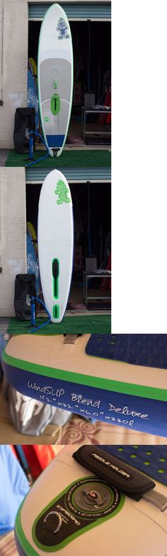 Windsurfing 2920: Sup Windsurf - Windsup - Starboard Blend 112 X 32 - Deluxe - New (Open Box) BUY IT NOW ONLY: $1399.0
