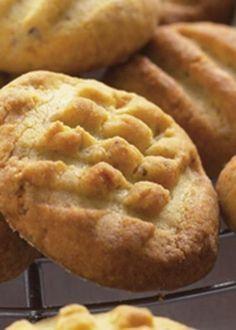 Biscoitos de limão com pistácios
