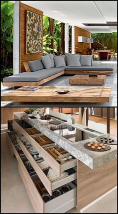 Pin by achu rajesh on Home & deco (With images) Interior Design Living Room, Living Room Designs, Living Room Decor, Diy Furniture, Furniture Design, Wooden Living Room Furniture, Steel Furniture, Modern House Design, Sofa Design