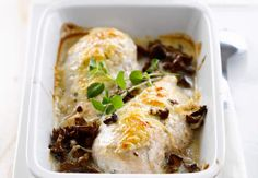 Blanc de poulet au fourVoir la recette du Blanc de poulet au four >>