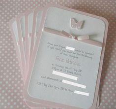 Christening/Baptism/Dedication Invitations by LittleDarlingsUK, £27.50