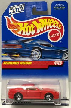 1998 Mattel Hot Wheels Die-Cast - Ferrari 456M This item is NOT in Mint Condition and is in no way being described as Mint or even Near Mint. Our toys have not always lead the perfect life, nor have t