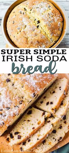 This Irish Soda Bread Recipe is the best soda bread recipe! It is so easy and loaded with flavor! Perfect addition to your St. Patrick's Day feast! Best Soda Bread Recipe, Knead Bread Recipe, Tasty Bread Recipe, Bread Recipes, Easy Irish Recipes, Scottish Recipes, Irish Desserts, Traditional Irish Soda Bread, Irish Bread