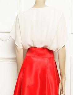Top blanco para bodas Rodas Nubbe Clothes