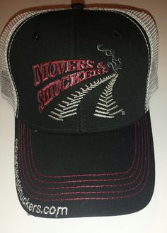 4ea71a124ba Farmer Trucker Hat Movers and Shuckers cap strapback curved bill Ohio   ProsperityPromotions  TruckerHat Strapback