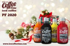 All the best from iced coffee COFFEE time. Ledova kava COFFEE time. Made in Czech republic. Worldwide export