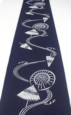 Japanese Vintage Indigo Yukata Cotton. Full Fabric by FurugiStar