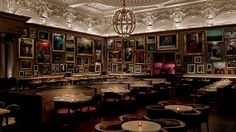 London After Dark - Ralph Lauren Magazine. Berners Tavern, London. Want to go and look at all those pictures.