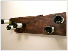 wine rack (found at http://camillestyles.com/2011/transformed-a-wine-rack-diy/ )