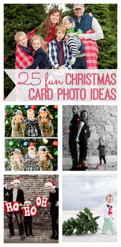 25 Fun Christmas Card Photo Ideas - My Life and Kids The holidays are a time to bring family together. What better way to spread holiday cheer than with these original family Christmas card photo ideas - including great outfit ideas for family pictures. Xmas Photos, Family Christmas Pictures, Family Christmas Cards, Holiday Pictures, Christmas Minis, Christmas Holidays, Diy Christmas Card Photo Ideas, Xmas Family Photo Ideas, Fun Family Photos