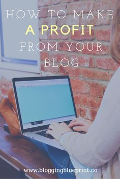 how to make a profit from your blog