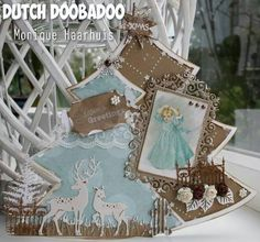 Dutch Doobadoo Shape Art kerstboom Door Monique